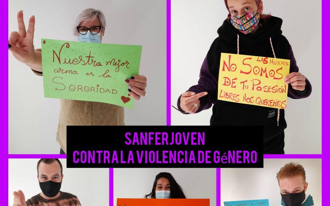 SANFERJOVEN CONTRA LA VIOLENCIA DE GÉNERO