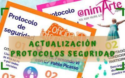 ACTUALIZACIÓN DE PROTOCOLOS DE SEGURIDAD COVID